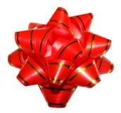 Κόκκινο τόξο δώρων Στοκ εικόνα με δικαίωμα ελεύθερης χρήσης