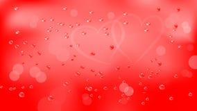 Κόκκινο υπόβαθρο ημέρας βαλεντίνων ` s Στοκ εικόνα με δικαίωμα ελεύθερης χρήσης