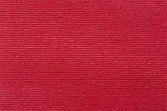 Κόκκινο υπόβαθρο κάλυψης βιβλίων με το σύντομο χρονογράφημα Στοκ Εικόνα
