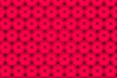 Κόκκινο υπόβαθρο με τους κύκλους Στοκ Εικόνες