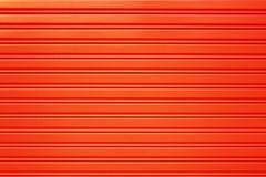 Κόκκινο υπόβαθρο πορτών κυλίνδρων ασφάλειας μετάλλων Στοκ Εικόνες