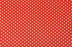 Κόκκινο υπόβαθρο σημείων Πόλκα Στοκ φωτογραφία με δικαίωμα ελεύθερης χρήσης