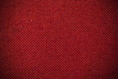 Κόκκινο υπόβαθρο υφασμάτων Στοκ Εικόνα