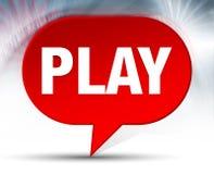 Κόκκινο υπόβαθρο φυσαλίδων παιχνιδιού ελεύθερη απεικόνιση δικαιώματος