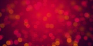 Κόκκινο υπόβαθρο φω'των θαμπάδων καμμένος & de-στραμμένη ταπετσαρία υποβάθρου φω'των στοκ εικόνα με δικαίωμα ελεύθερης χρήσης