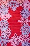 Κόκκινο υπόβαθρο Χριστουγέννων Στοκ εικόνες με δικαίωμα ελεύθερης χρήσης