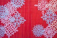 Κόκκινο υπόβαθρο Χριστουγέννων Στοκ εικόνα με δικαίωμα ελεύθερης χρήσης