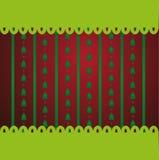 Κόκκινο υπόβαθρο Χριστουγέννων Στοκ φωτογραφία με δικαίωμα ελεύθερης χρήσης