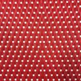 Κόκκινο υπόβαθρο ύφανσης καλαθιών Στοκ Εικόνα