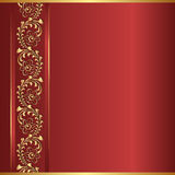 Κόκκινο υπόβαθρο Στοκ Εικόνα