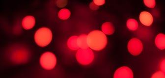 Κόκκινο υπόβαθρο Bokeh Στοκ φωτογραφίες με δικαίωμα ελεύθερης χρήσης