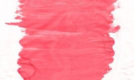 Κόκκινο υπόβαθρο watercolor οικολογίας λουλουδιών, απεικόνιση ράστερ απεικόνιση αποθεμάτων
