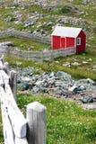 κόκκινο υπόστεγο στοκ εικόνα