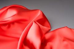 κόκκινο υφάσματος Στοκ Εικόνα