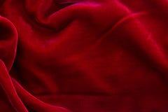 κόκκινο υφαντικό βελούδο σύστασης ανασκόπησης Στοκ φωτογραφίες με δικαίωμα ελεύθερης χρήσης