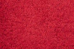κόκκινο υφασμάτων ανασκόπ& Στοκ εικόνα με δικαίωμα ελεύθερης χρήσης