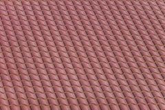Κόκκινο υλικό κατασκευής σκεπής από το μεταλλικό πιάτο Στοκ Εικόνες