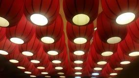 κόκκινο φαναριών Στοκ Εικόνες