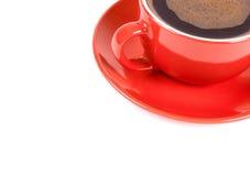 Κόκκινο φλιτζάνι του καφέ Στοκ φωτογραφία με δικαίωμα ελεύθερης χρήσης