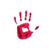 κόκκινο φοινικών Στοκ εικόνα με δικαίωμα ελεύθερης χρήσης
