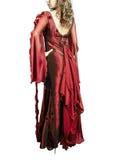 κόκκινο φορεμάτων Στοκ εικόνες με δικαίωμα ελεύθερης χρήσης
