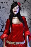 κόκκινο φορεμάτων Στοκ Εικόνες