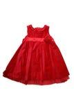 κόκκινο φορεμάτων Στοκ εικόνα με δικαίωμα ελεύθερης χρήσης