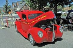 Κόκκινο φορτηγό της Ford Στοκ εικόνες με δικαίωμα ελεύθερης χρήσης