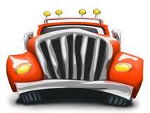 Κόκκινο φορτηγό Απεικόνιση αποθεμάτων