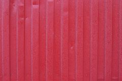 Κόκκινο φυσικό φως της ημέρας υποβάθρου φρακτών Στοκ Εικόνες