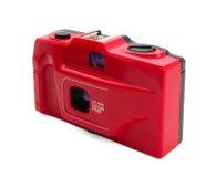 κόκκινο φωτογραφικών μηχ&alph Στοκ Φωτογραφία
