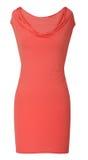 Κόκκινο φόρεμα στοκ φωτογραφία με δικαίωμα ελεύθερης χρήσης