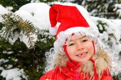 κόκκινο χαμόγελο κοριτ&sigm Στοκ φωτογραφία με δικαίωμα ελεύθερης χρήσης