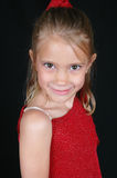 κόκκινο χαμόγελο πουκάμ&io Στοκ εικόνες με δικαίωμα ελεύθερης χρήσης