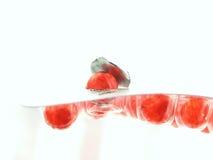 κόκκινο χαπιών Στοκ φωτογραφία με δικαίωμα ελεύθερης χρήσης