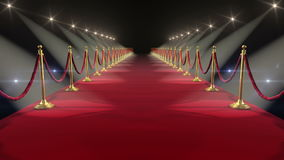 Κόκκινο χαλί Περιτυλιγμένη ζωτικότητα HD 1080 διανυσματική απεικόνιση