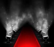 Κόκκινο χαλί Στοκ φωτογραφίες με δικαίωμα ελεύθερης χρήσης