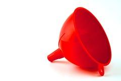 κόκκινο χοανών Στοκ φωτογραφία με δικαίωμα ελεύθερης χρήσης