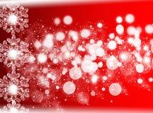 κόκκινο Χριστουγέννων ανασκόπησης νέο έτος ανασκόπησης Στοκ Εικόνες
