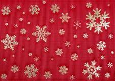κόκκινο Χριστουγέννων ανασκόπησης Στοκ εικόνα με δικαίωμα ελεύθερης χρήσης