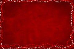 κόκκινο Χριστουγέννων ανασκόπησης Στοκ Εικόνα