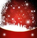 κόκκινο Χριστουγέννων αν&al Στοκ Εικόνες