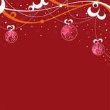 κόκκινο Χριστουγέννων αν&al Ελεύθερη απεικόνιση δικαιώματος