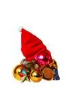 κόκκινο Χριστουγέννων ΚΑΠ Στοκ εικόνες με δικαίωμα ελεύθερης χρήσης