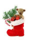 κόκκινο Χριστουγέννων μπ&omicr Στοκ Εικόνες