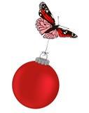 κόκκινο Χριστουγέννων πε& απεικόνιση αποθεμάτων