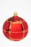 κόκκινο Χριστουγέννων σφ&a στοκ φωτογραφία με δικαίωμα ελεύθερης χρήσης