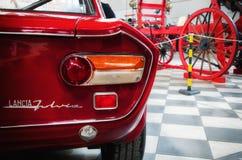 Κόκκινο χρώμα της Lancia Fulvia HF Στοκ εικόνα με δικαίωμα ελεύθερης χρήσης