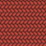 Κόκκινο ψάθινο άνευ ραφής σχέδιο Στοκ Εικόνα