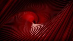 Κόκκινο λωρίδων στροβίλων ελεύθερη απεικόνιση δικαιώματος